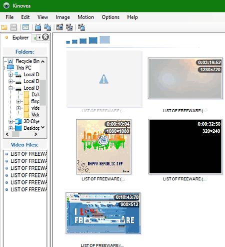 video explorer software